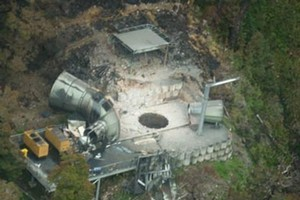 Dangerous gas levels are continuing to delay the Pike River mine stablisation plan. Photo / supplied