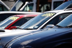 If you're buying a used car through a dealer, expect to spend more - and get a guarantee. Photo / NZ Herald