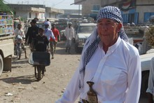 Paul Holmes in Yemen for TV One's Intrepid Journeys. Photo / Supplied