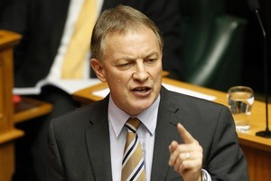 Labour leader Phil Goff. Labour pledged to raise the minimum wage to $15 an hour. Photo / Mark Mitchell