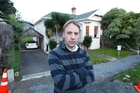 Gareth Keir was served an eviction notice from the house's owner, the Eden Park Trust Board. Photo / Steven McNicholl