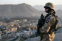 National and Labour insist our troops stay in Afghanistan. Photo / NZ Herald