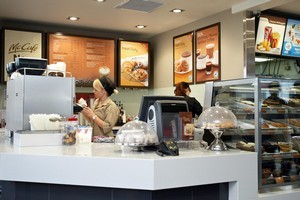 McDonald's has admitted that the coffees it serves up in Australasia are not up to scratch. Photo / supplied