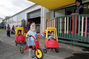 The Childcare Association says some parents will need to pay more under proposed changes to early childhood education. File photo / NZ Herald