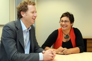 Green Party co-leaders Russel Norman and Metiria Turei. Photo / Northern Advocate
