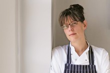 Chef Anna Hansen says the theme for her book is that 'it's really just everyday cooking but with a kind of a twist.' Photo / Supplied 