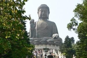 Lantau Island features one of the world's biggest Buddhas. Photo / Jim Eagles
