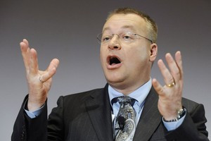 Nokia chief executive Stephen Elop.