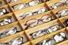 Remember when choosing the perfect glasses for your face shape that your eyes need to be centred in the lens. 'You don't want the top of the frame running 'across' the eyeball,' says leading stylist Susan Axford. Photo / Thinkstock