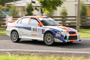 Auckland rally driver Glenn Inkster placed sixth at Rally Wairarapa.