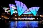 Shining a light on Sydney's landmarks.