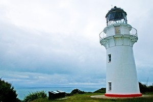 It is a 750-step climb to the East Cape Lighthouse but the view is well worth the effort. Photo / Vicky Jayne