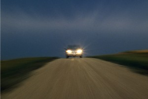 Cars have a tendency to disappear on rural backroads - especially at dusk. Photo / Thinkstock