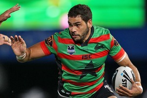 Greg Inglis comes up against his old team on Sunday night. Photo / Getty Images