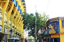La Bombonera stadium – home of Boca Juniors. Photo / Jill Worrall