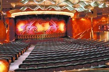 The theatre aboard the Rhapsody of the Seas. Photo / Supplied