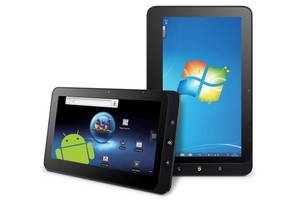 The ViewPad 10 runs both Android and Windows 7. Photo / Supplied