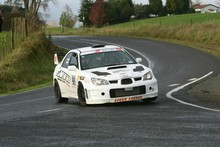 Targa Rotorua winners Leigh and Gray Hopper (Modern Competition). Photo - Fast Company/GroundSky Photography