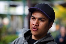 Hare Peihopa, 18, has had sporadic work since school, and says one in 10 of his mates has a job. The rest steal or sell drugs for money. Picture / Natalie Slade
