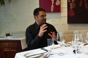 The Grove restaurant owner Michael Dearth. Photo / Richard Robinson.