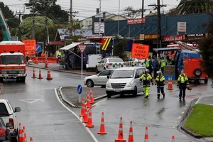 The cause of an explosion in the Auckland suburb of Onehunga which claimed the life of a 48-year-old woman on Saturday remains unknown. Photo / Brett Phibbs