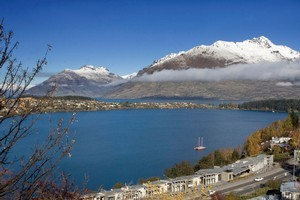 View from the Rees Hotel in Queenstown. Business was lost after unflattering reviews were incorrectly posted on Travelocity.