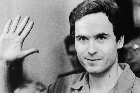 Ted Bundy is one of the people who feature on the baby clothes. Photo / Supplied