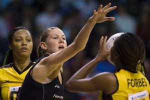 Silver Fern captain Casey Williams will sit out tonight's test against Australia. Photo / Simon Baker