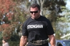 Dale Shepherd is the oldest and lightest person to win the New Zealand Strongest Man competition. Photo / APN