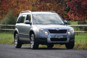Skoda Yeti. Photo / Supplied