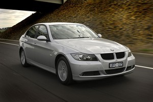 The BMW 320d is good value at around $55,000. Photo / Supplied