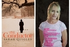'The Conductor' and author Sarah Quigley. Photos / Supplied