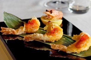 Deep-fried paradise prawns at Cocoro. Photo / Natalie Slade