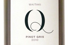 Q Pinot Gris 2010, $33.35. Photo / Supplied