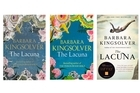 Various covers of Barbara Kingsolver's The Lacuna.