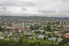 A view from the summit of Mt Albert/Owairaka. Photo / Chris Skelton
