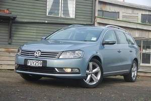 VW's latest Passat wagon is fun to drive and practical. Photo / Jacqui Madelin