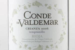 2006 Conde de Valdemar Crianza, $27. Photo / Greg Bowker