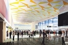 An artists impression of the proposed Convention centre. Photo / Supplied
