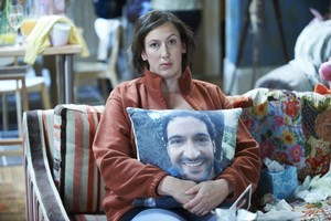 Comedian Miranda Hart has perfected the art of slapstick in her new comedy 'Miranda'. Photo / supplied