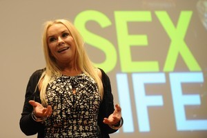 Pamela Stephenson-Connolly doesn't embarrass easily. Photo / Otago Daily Times