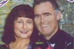 Janice and Graeme Fitzsimons - Graeme was killed yesterday. Photo / Supplied
