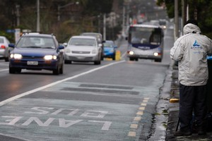 The number of cars being snapped on Grafton Bridge is again tracking upwards. Photo / Sarah Ivey