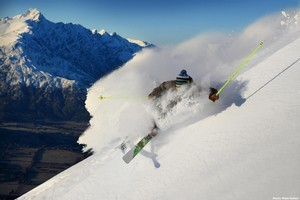 Disruptions to international flights could harm New Zealand's ski season. Photo / Miles Holden