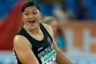 Valerie Adams, will be defending her Olympic title in London next year and shapes as one of the country's best gold medal contenders. Photo / Brett Phibbs