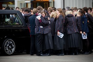 Much-loved King's College student David Gaynor died far too soon. Photo / Dean Purcell