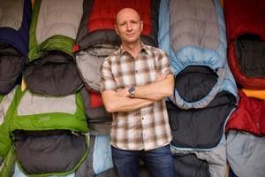 Peter Halkett of retailer Kathmandu. Photo / Richard Robinson