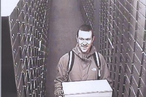 Matthew Frewer visited the safety deposit box 120 times in six months. Photo / Supplied