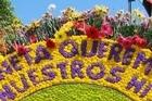 Feria de las Flores (Flowers Festival). Photo / Maria del R Jimenez