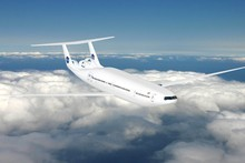 As well as looking pretty cool, new aircraft design may dramatically decrease fuel usage. Photo / Supplied